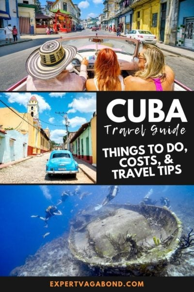 My ultimate budget travel guide to Cuba! Learn about things to do, where to stay, how much it costs, and more.