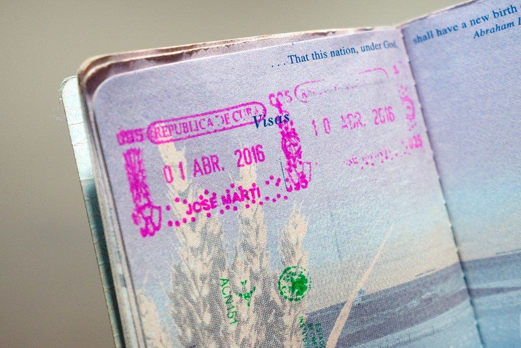 Passport Stamp Cuba