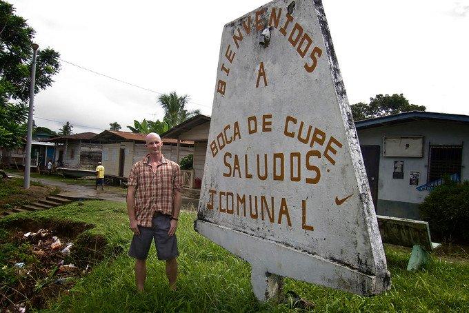 Boca de Cupe Darien Gap Panama