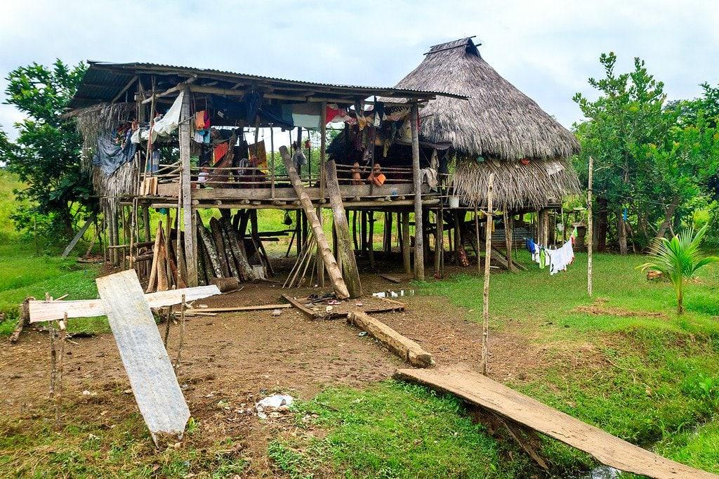 Embera House Darien Gap Panama