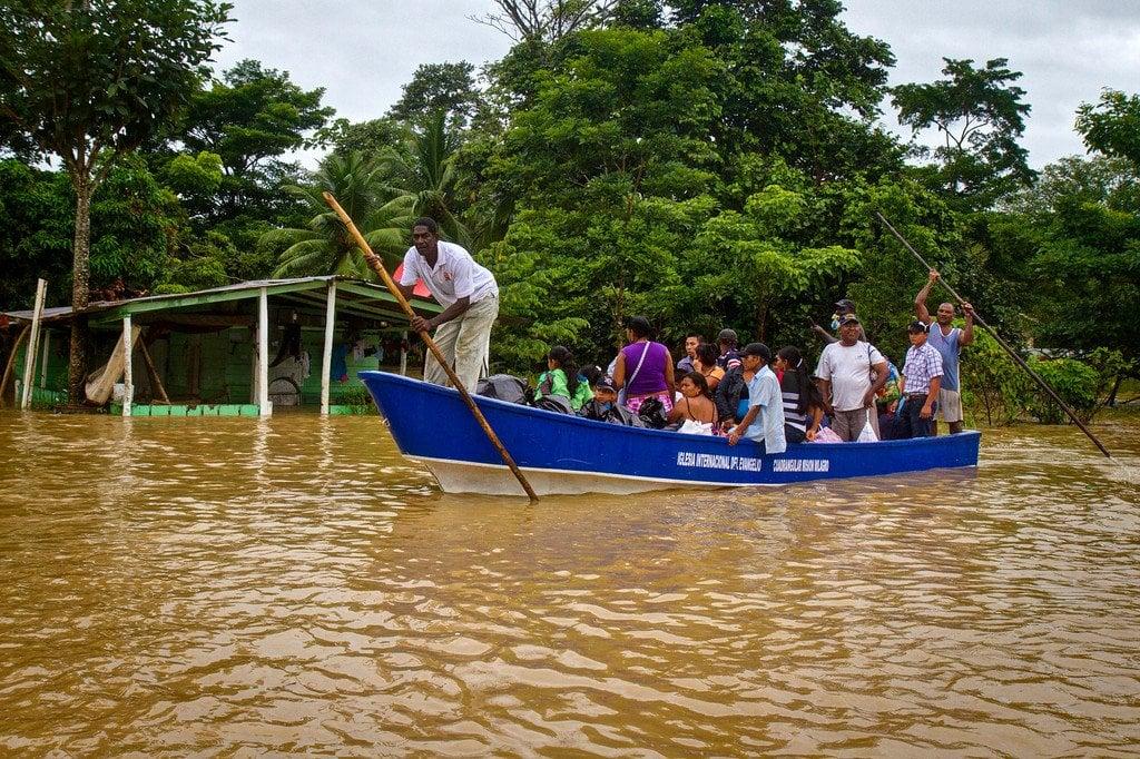 Flooding Darien Panama