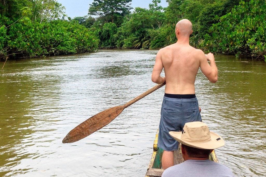 Dugout Canoe Panama