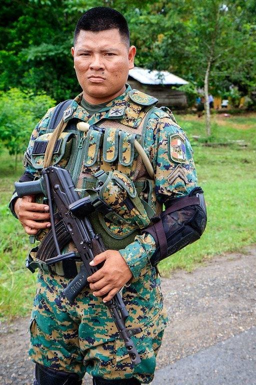 Senafront Soldier Darien Panama