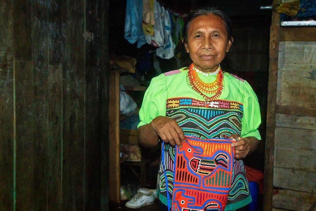 Kuna Woman Darien Panama