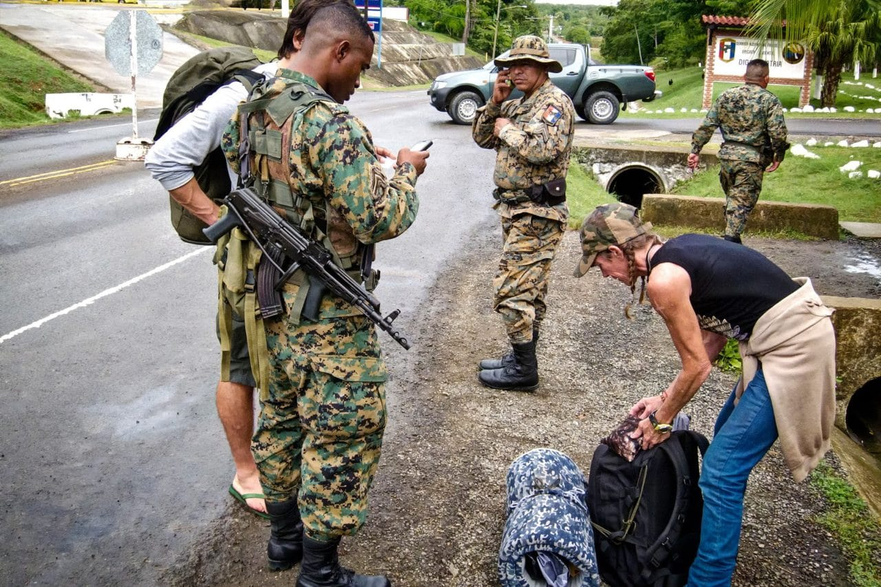 Yaviza Military Checkpoints Panama