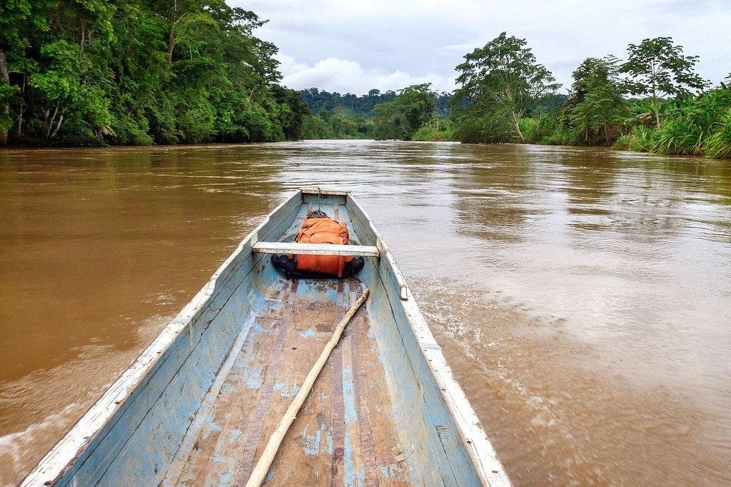 Canoe Darien Panama