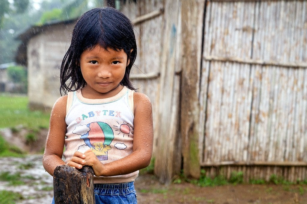 Wounaan Girl Darien Panama