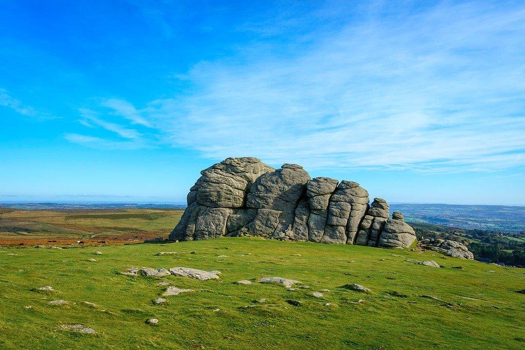 Haytor Rocks in Dartmoor