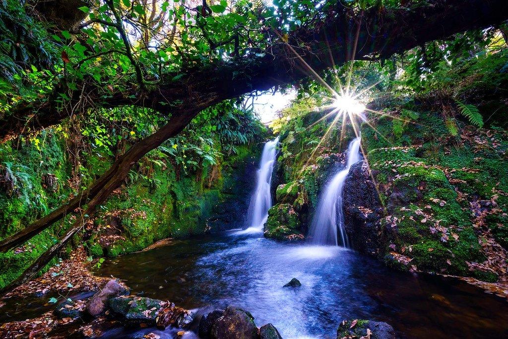 Waterfalls in Dartmoor