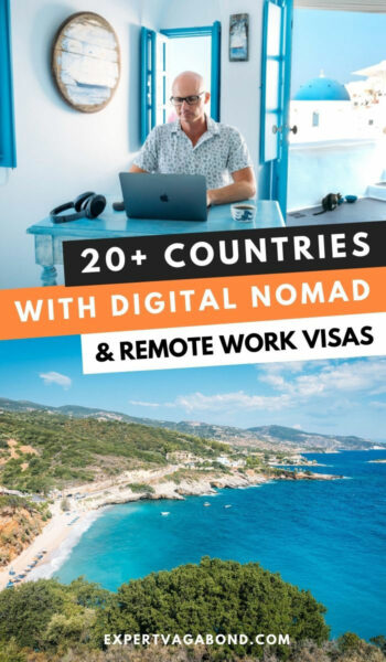 Countries with digital nomad and remote work visas. Discover what conditions you need and how to apply for the visas. #Remotework #Digitalnomad #Visas