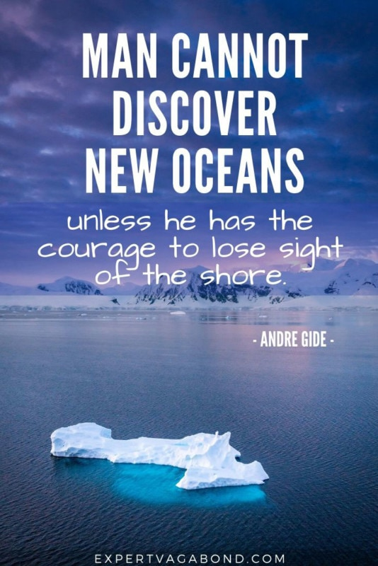 Classic Travel Quotes: Andre Gide