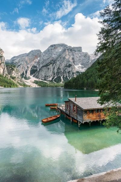 South Tyrol Italy Lake