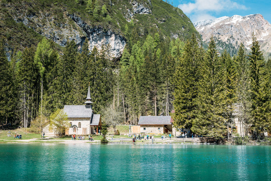 Lake Braies Church