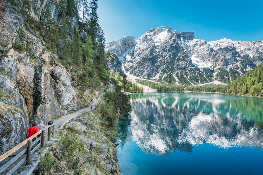 Pragser Wildsee Hiking