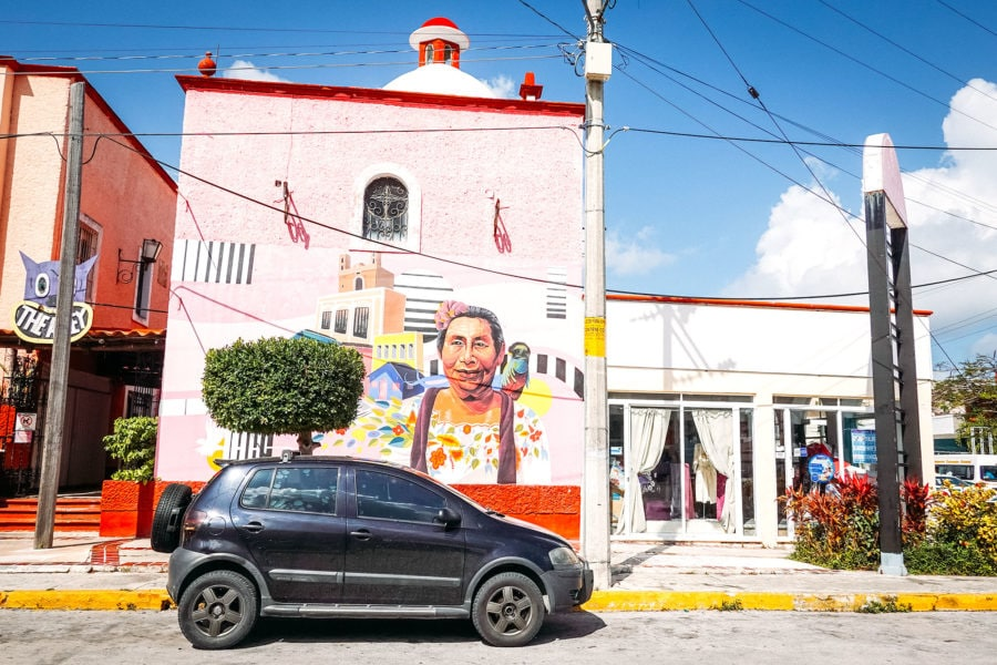 Downtown Cancun Streets