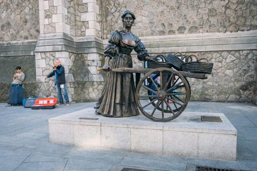Molly Malone Statue