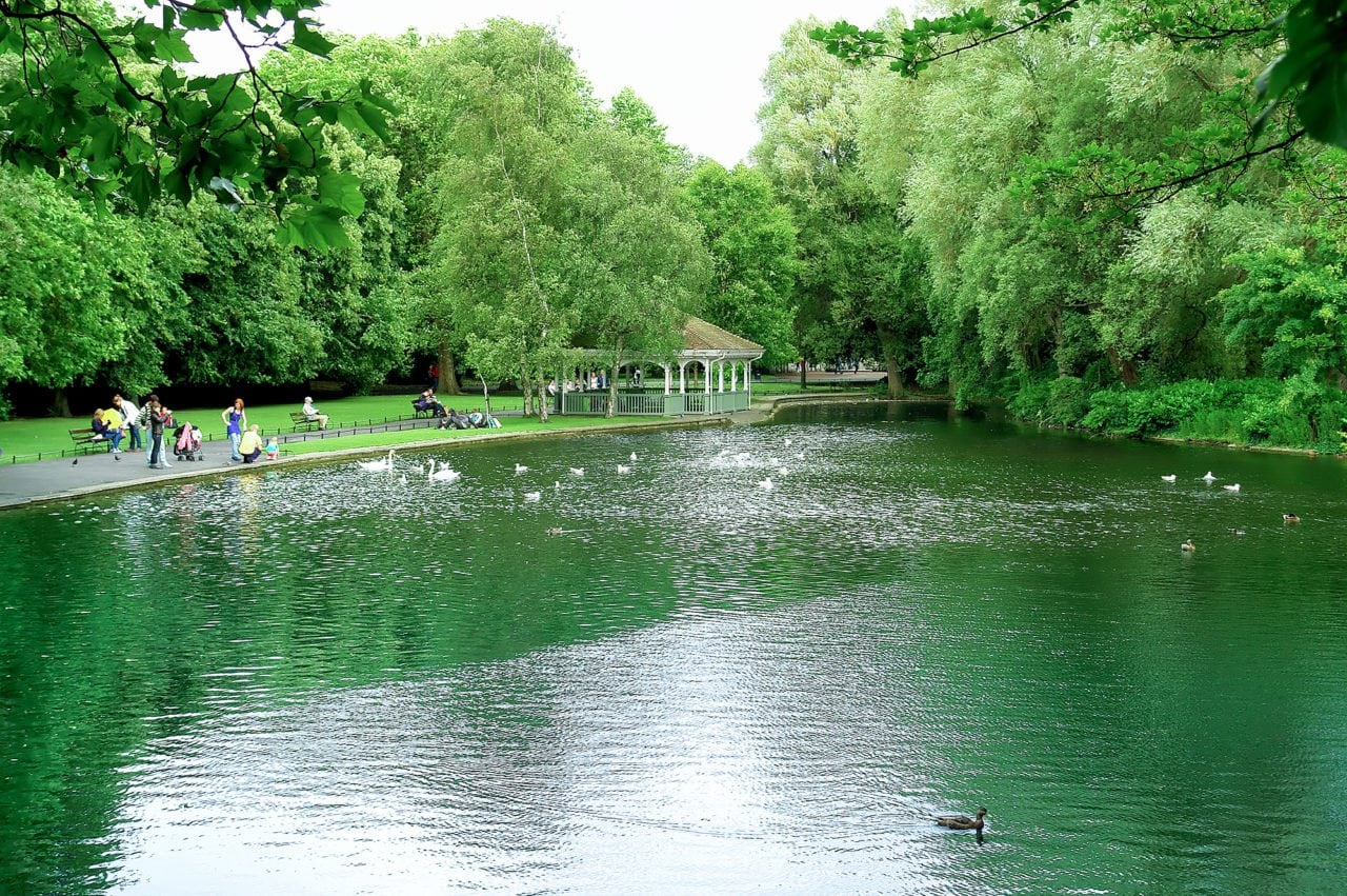 Dublin Things To Do: St. Stephen's Green