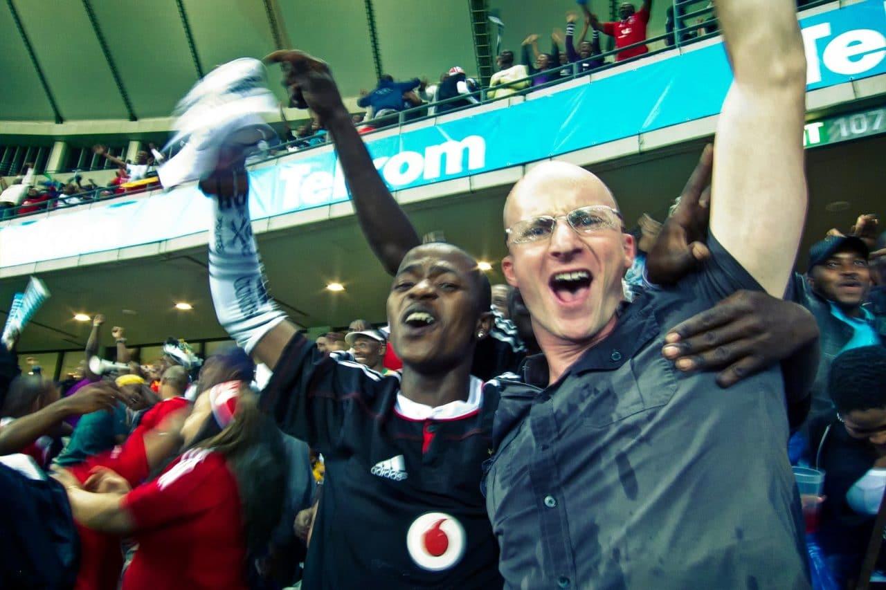 Football Celebration Durban South Africa