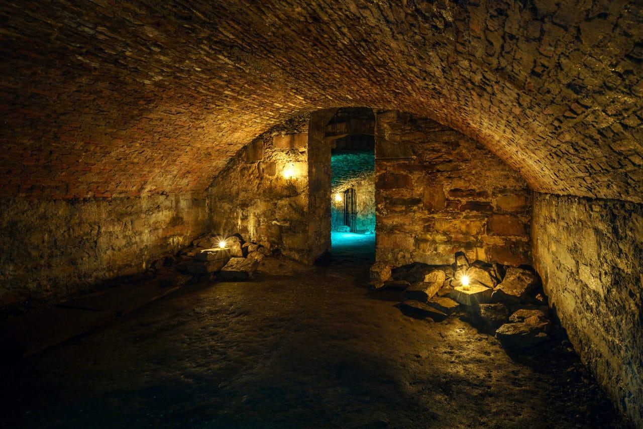 Edinburgh's Underground Tunnels