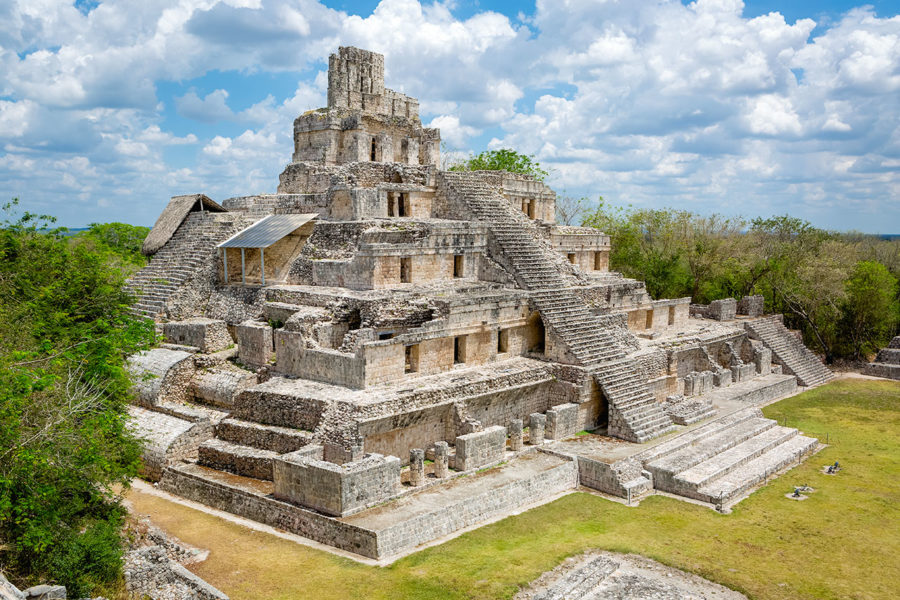 Edzna Maya Temple