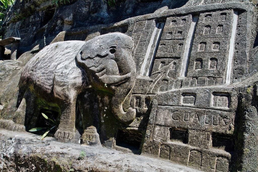 Esteli Nicaragua Elephant Carving