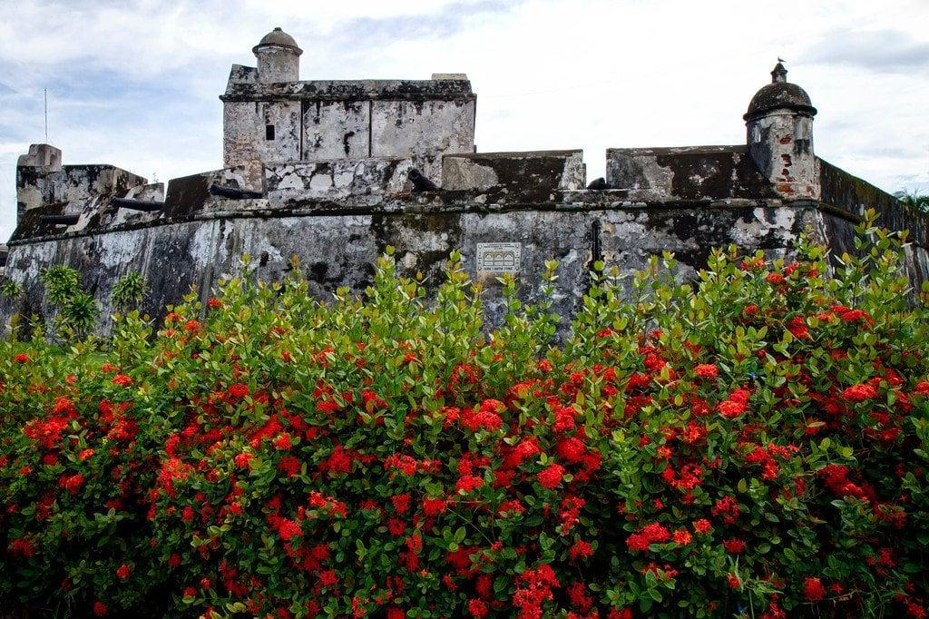 Fort Baluarte Santiago Veracruz Mexico