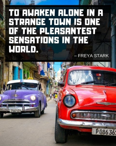 Freya Stark Travel Quotes for Instagram
