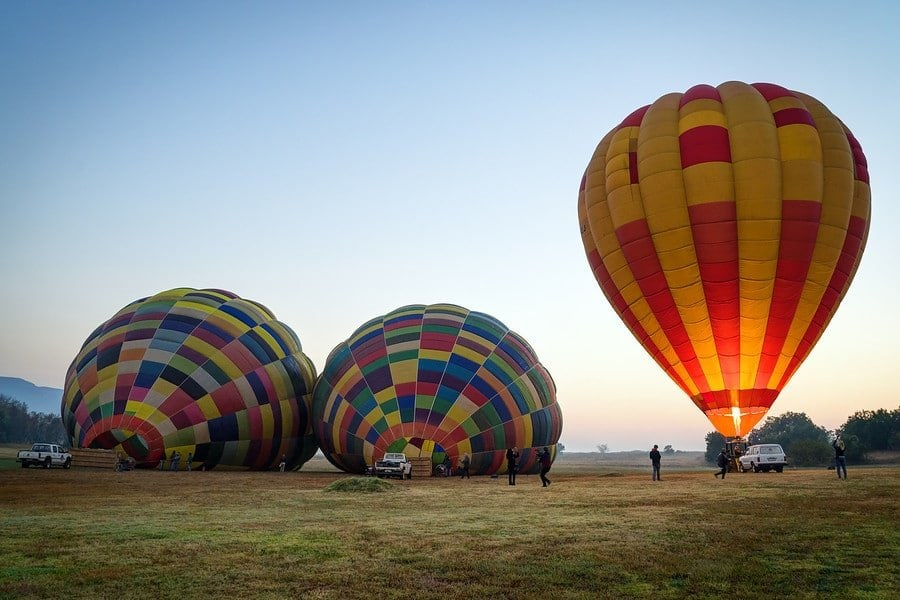 Balloons in South Africa