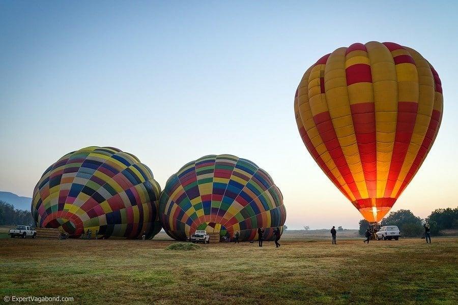 gauteng hot air balloons