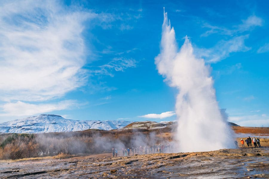 Geysir Iceland Golden Circle