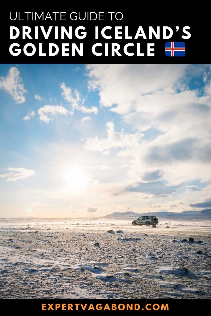 Driving the Golden Circle in Iceland. More at ExpertVagabond.com