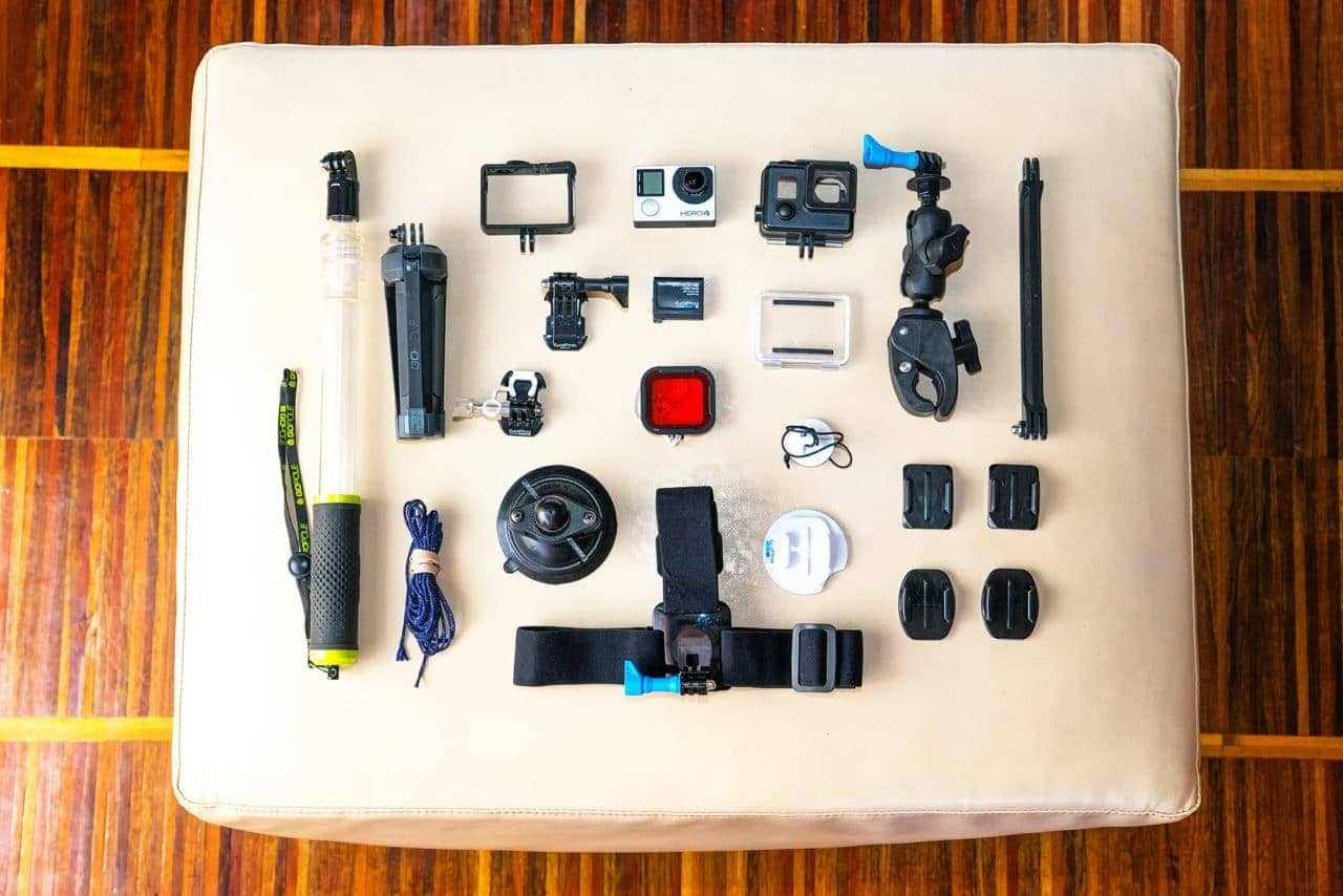 gopro accessories travel