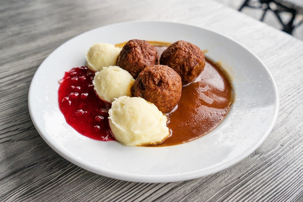 Meatballs in Sweden