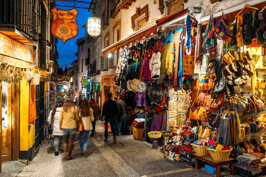 Albayzin Streets at Night