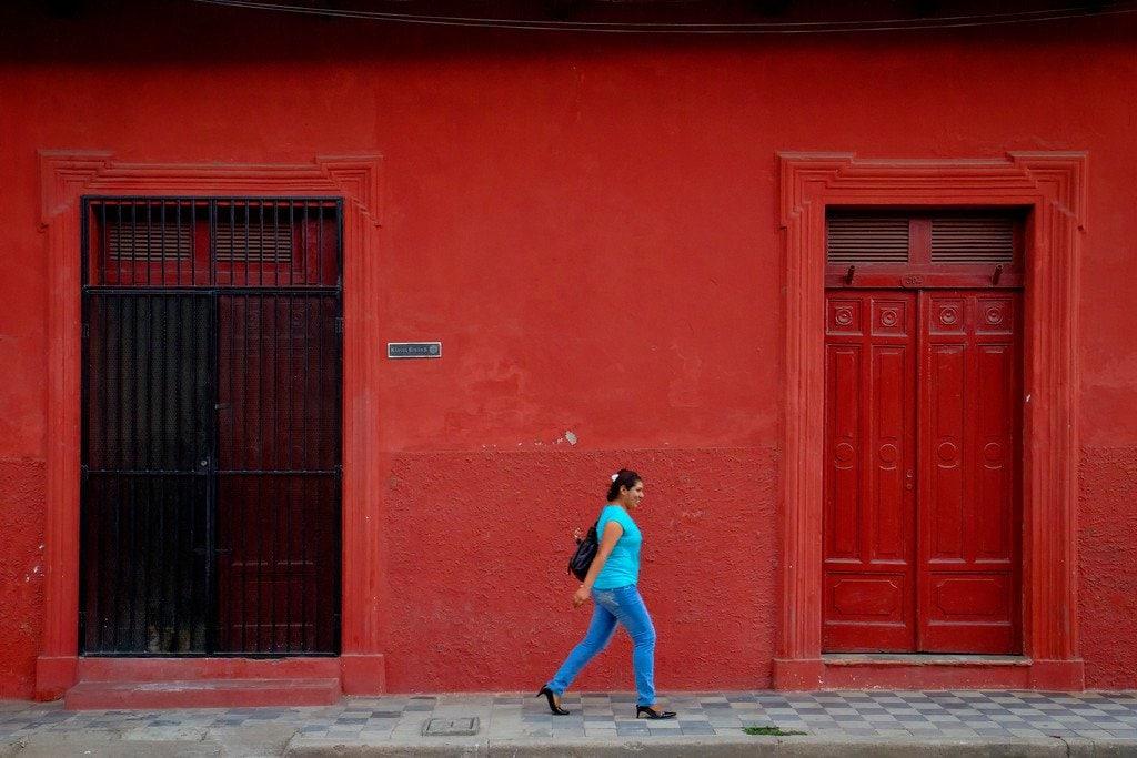 Granada Nicaragua Colorful Buildings
