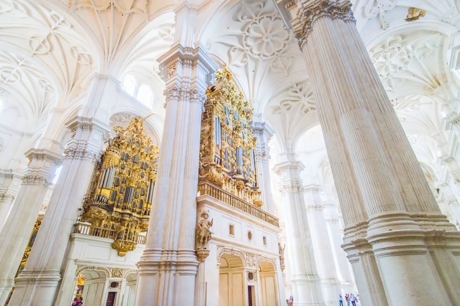 Granada Cathedral in Spain