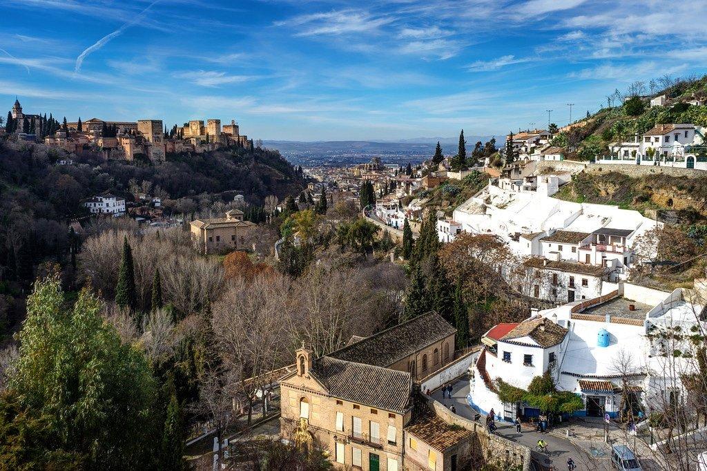 View of Granada in Spain