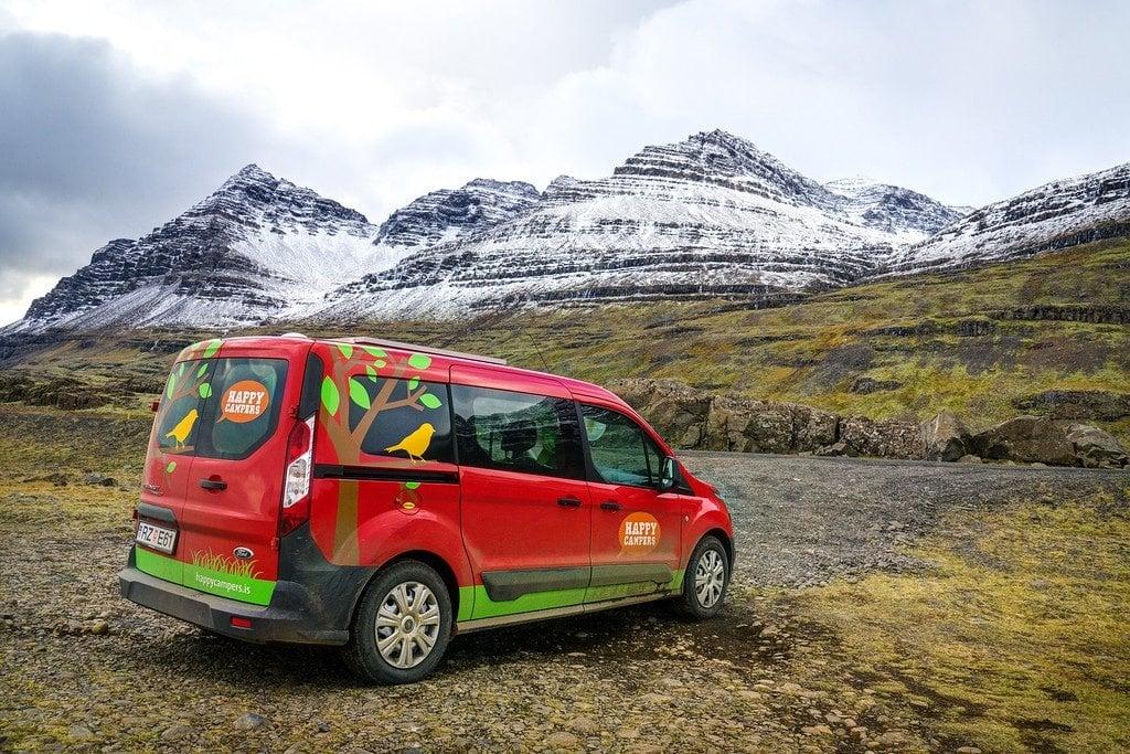 Camper Van Iceland