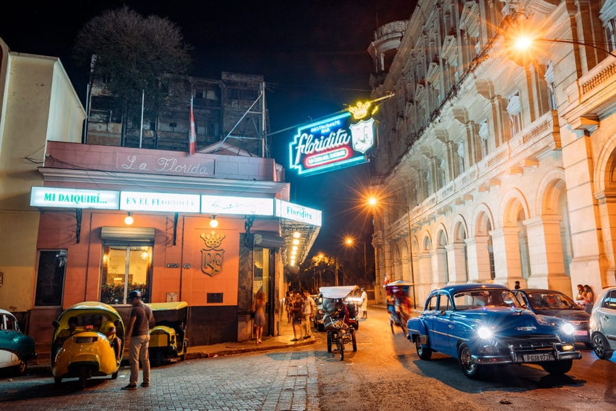 Hemingway's Favorite Bar in Havana