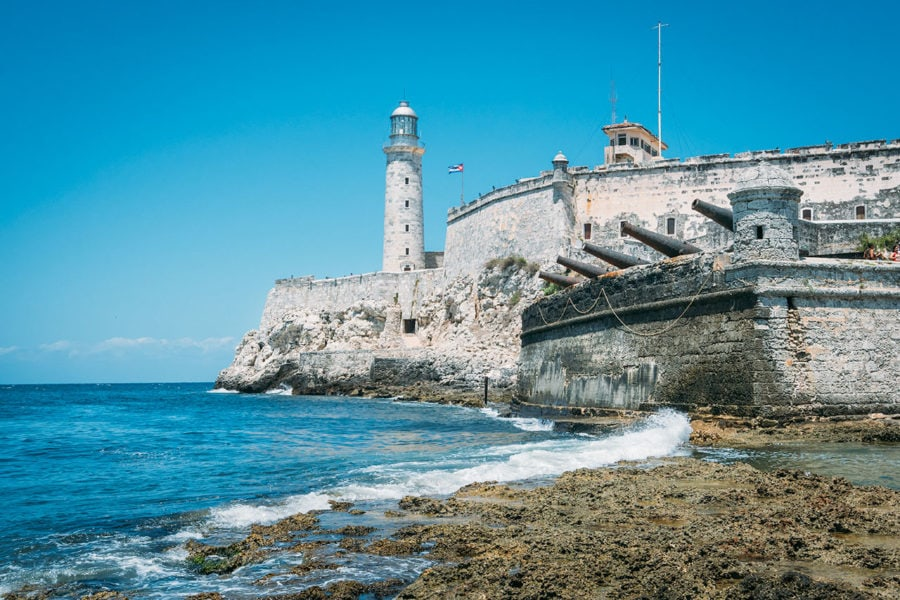 Visiting El Morro Castle in Havana