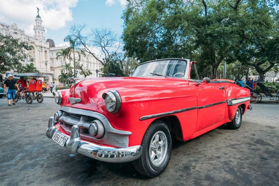 Havana 1950's Car