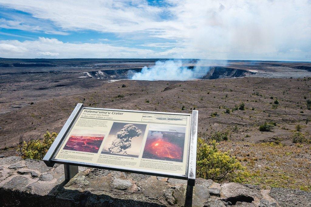 Halemaumau Crater Big Island Hawaii