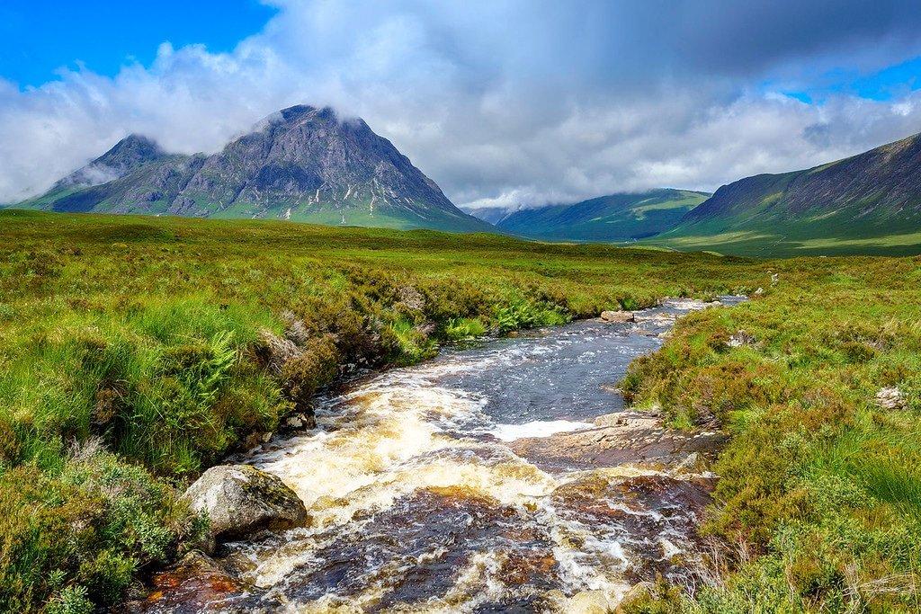 Scottish Highlands Mountain