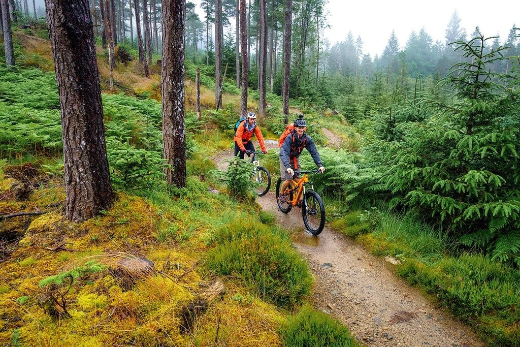 Mountain Biking Highlands