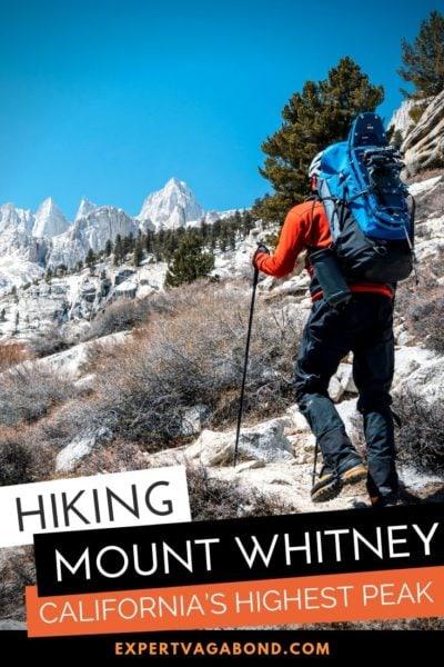 Hiking Mount Whitney: California's Highest Peak (Winter Climb) #Mountaineers #Route