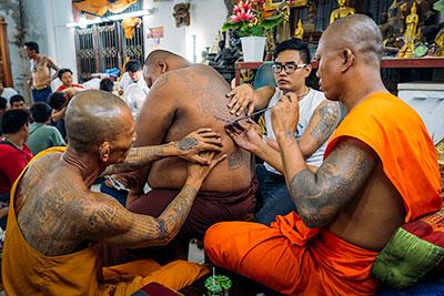 Thailand Tattoo Story