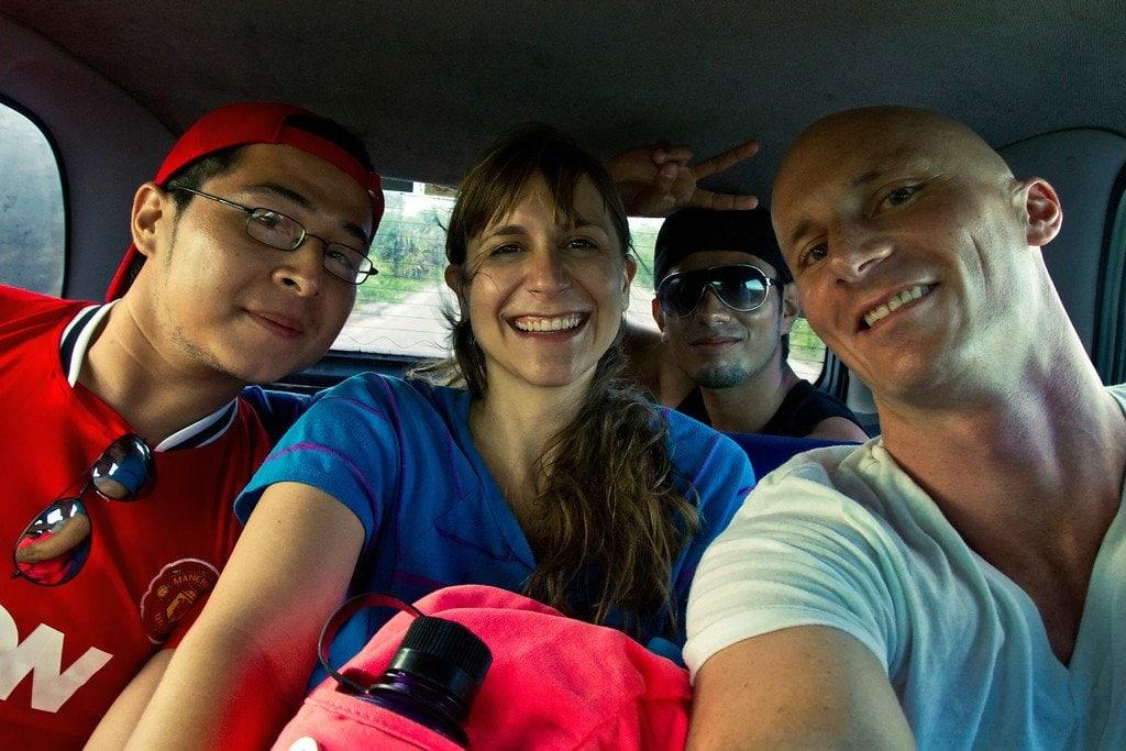 Hitchhiking Friends Cozumel