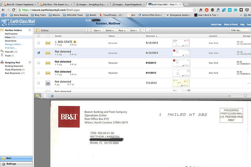 Online Mail Forwarding