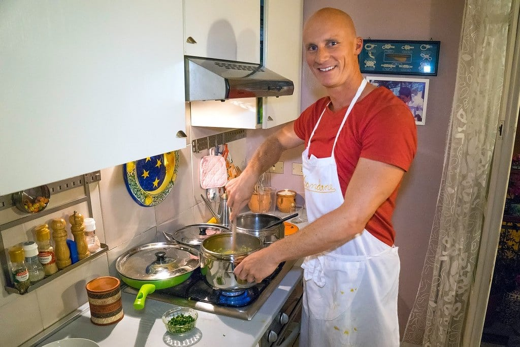 Cooking in Milan
