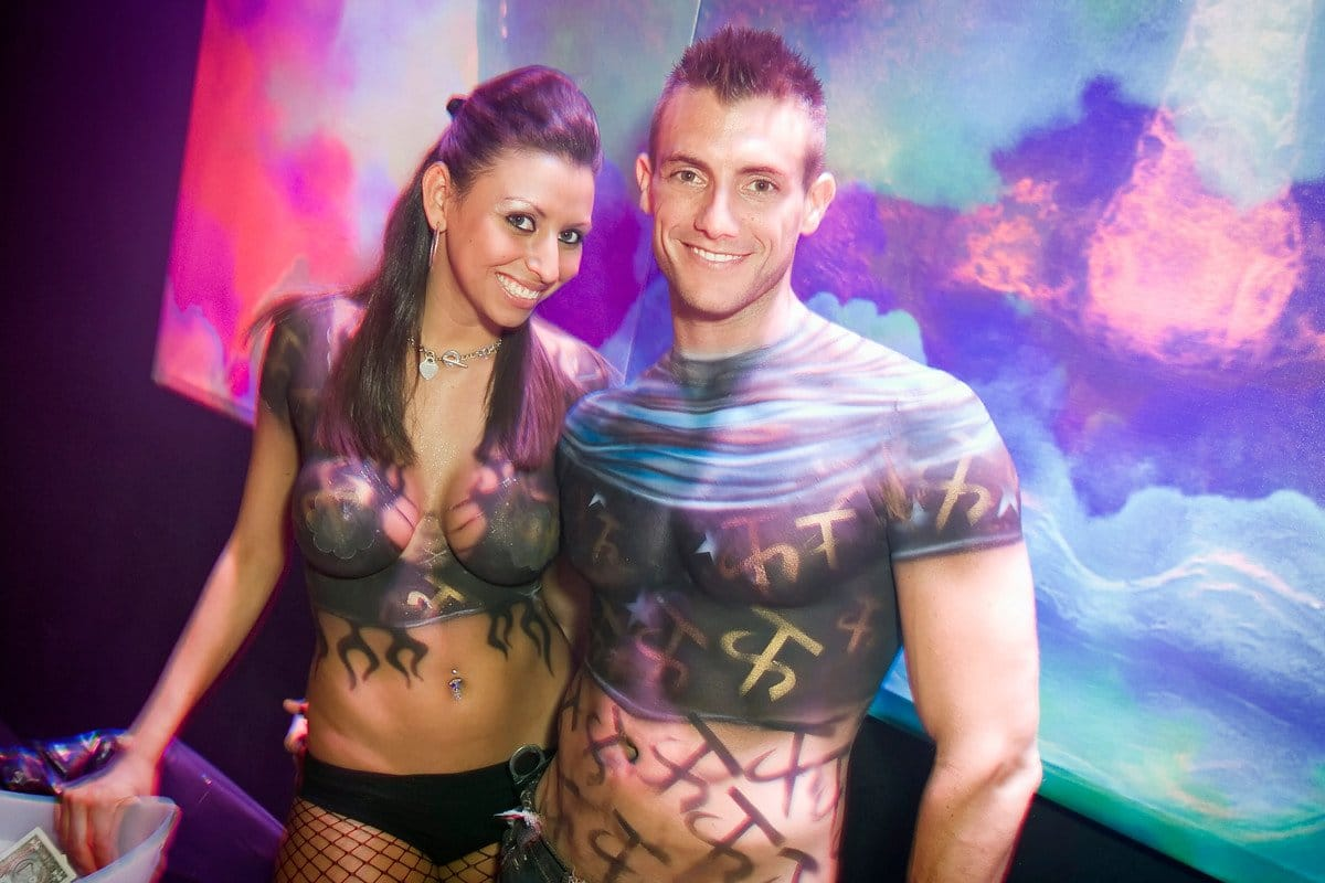 Body Paint Miami Nightlife